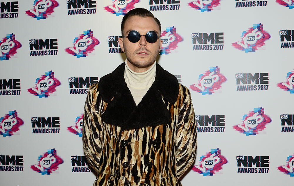 Theo Hutchcraft Hurts NME Awards 2017