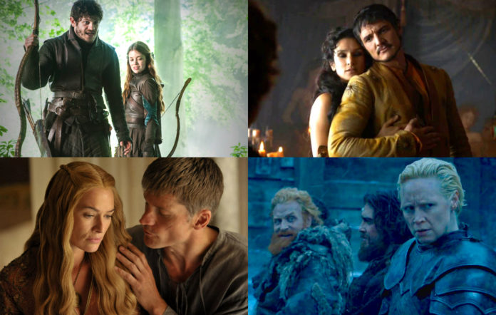 Game of Thrones couples