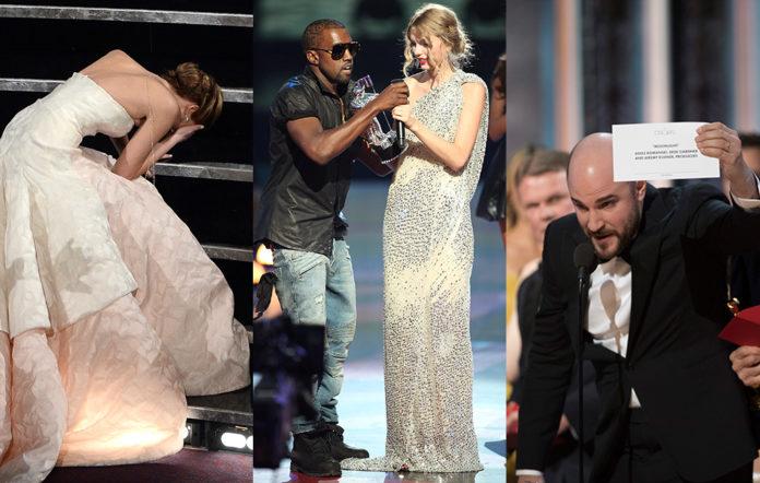 The worst awards fails ever