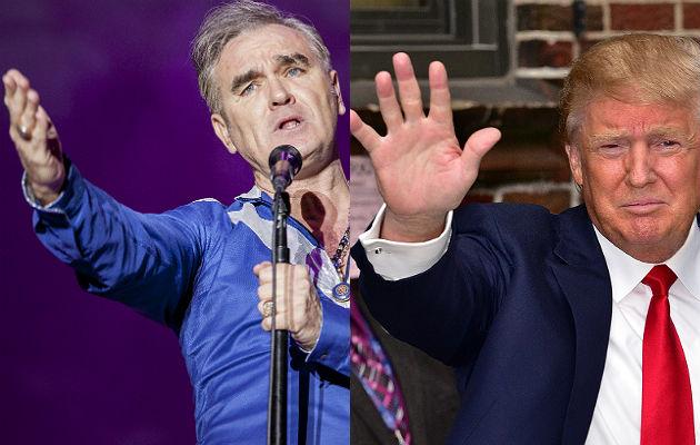 Morrissey and Donald Trump