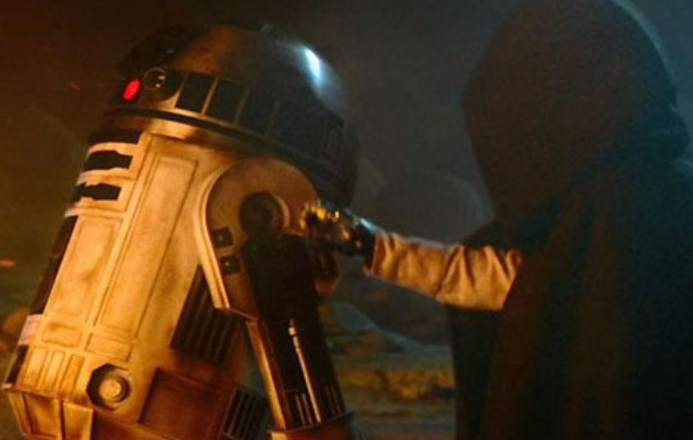 R2-D2 in 'The Last Jedi'