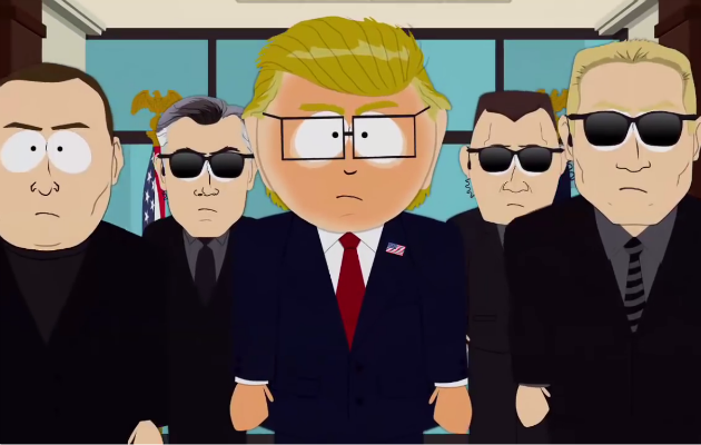 Mr. Garrison in 'South Park'