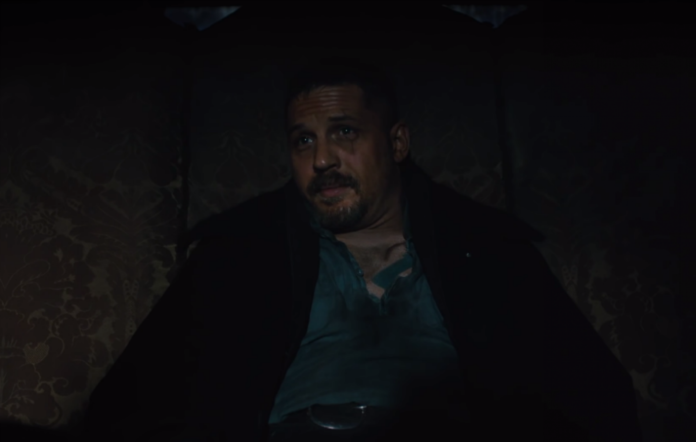 Tom Hardy as James Delaney in 'Taboo'