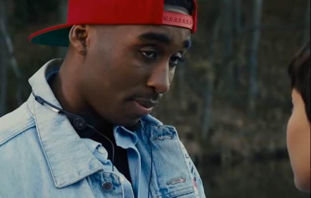 Demetrius Shipp, Jr. as Tupac Shakur in 'All Eyez On Me'
