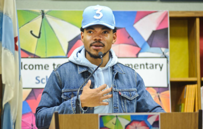 Chance the Rapper thank you letter