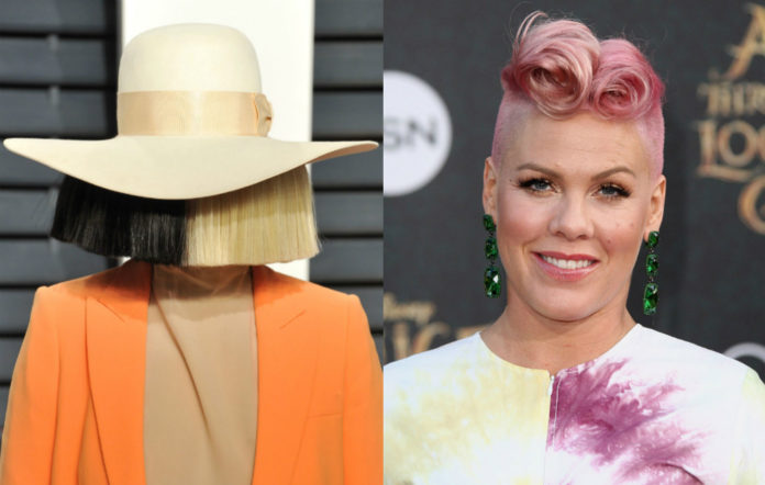 Sia Pink new song