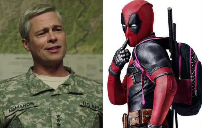 Brad Pitt is being touted to play Cable in 'Deadpool 2'