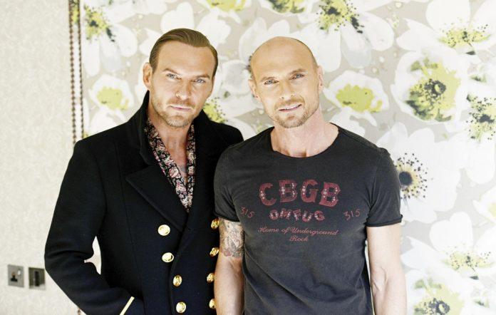 Bros duo Matt and Luke Goss