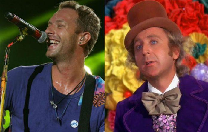 Chris Martin and Willy Wonka star Gene Wilder
