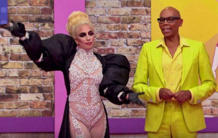 Lady Gaga on 'RuPaul's Drag Race'