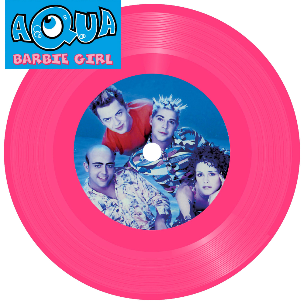Aqua will be releasing 'Barbie Girl' on vinyl for Record Store Day