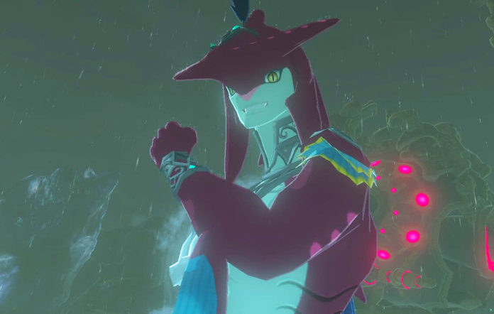 Zelda's shark Prince Sidon, who a lot of Breath of the Wild players are falling for
