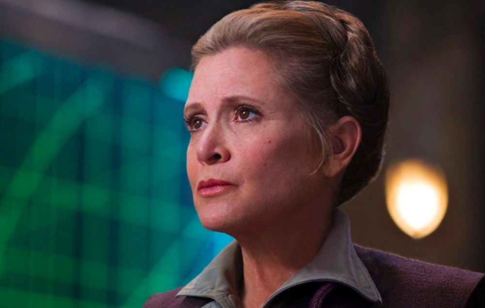 Disney boss discusses Carrie Fisher's 'The Last Jedi' role