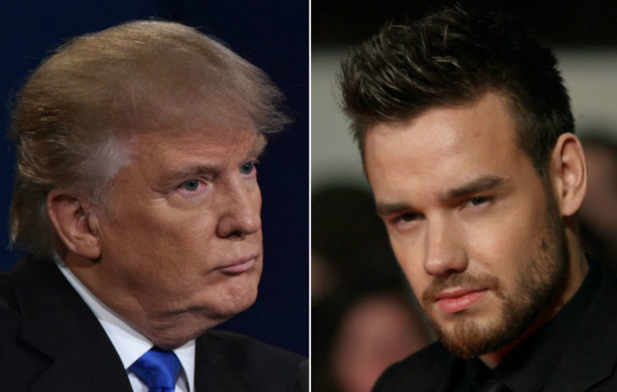 Liam Payne recalls One Direction's spat with Donald Trump