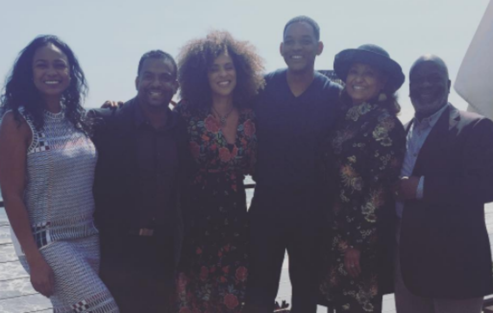 Fresh Prince cast enjoy a mini-reunion