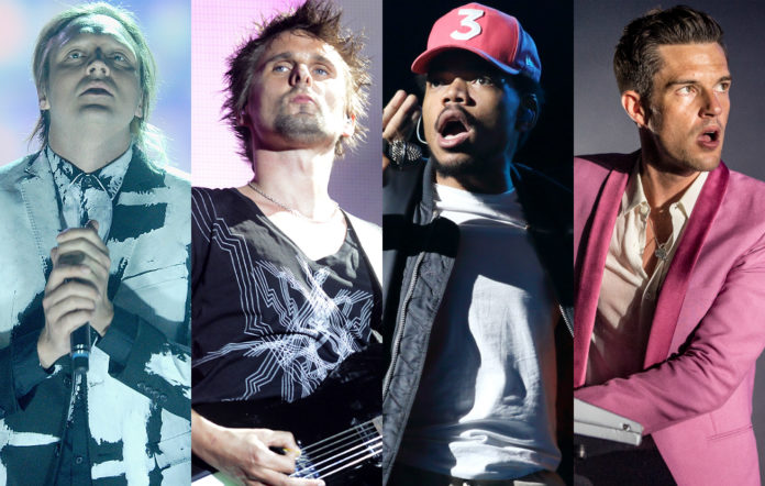 Arcade Fire, Muse, Chance The Rapper and The Killers will headline Lollapalooza 2017