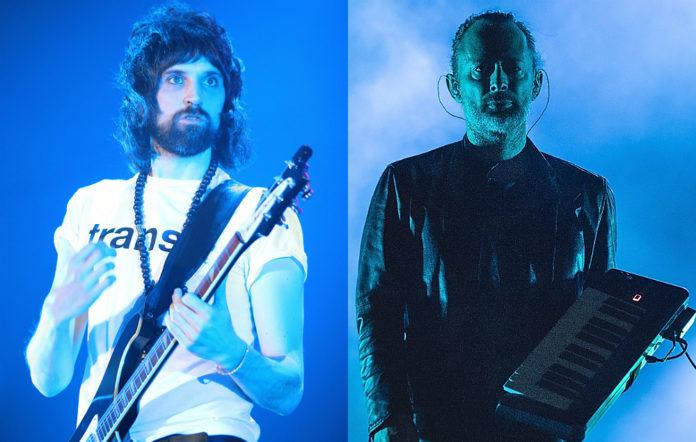 Kasabian's Serge Pizzorno and Radiohead's Thom Yorke