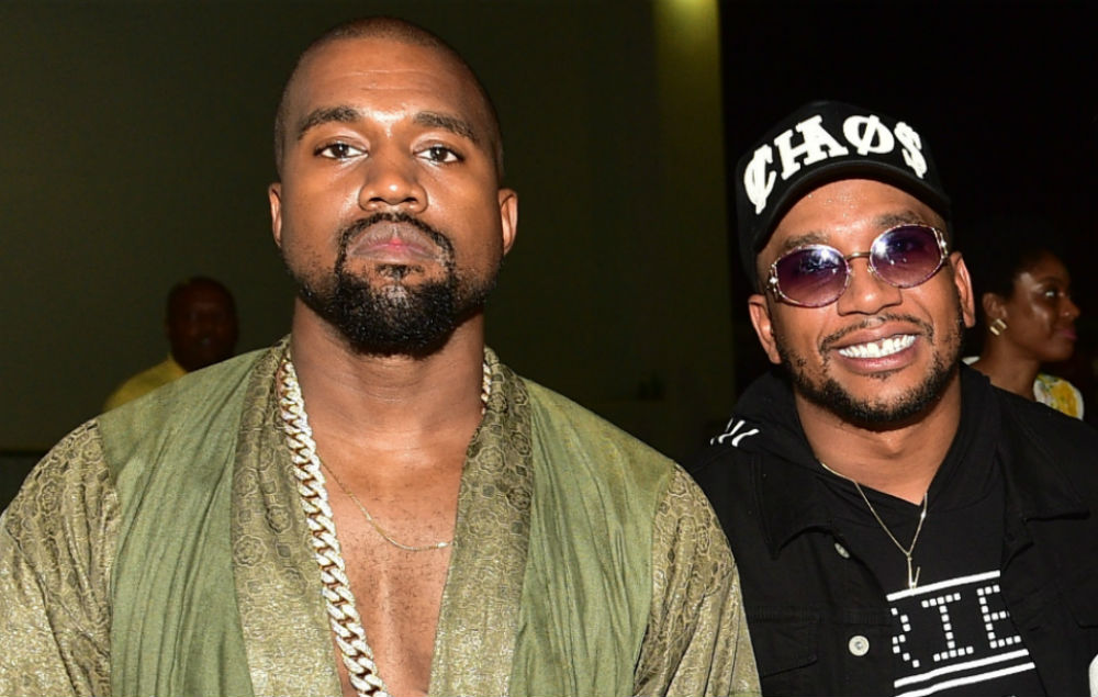 Kanye West and CyHi The Prynce