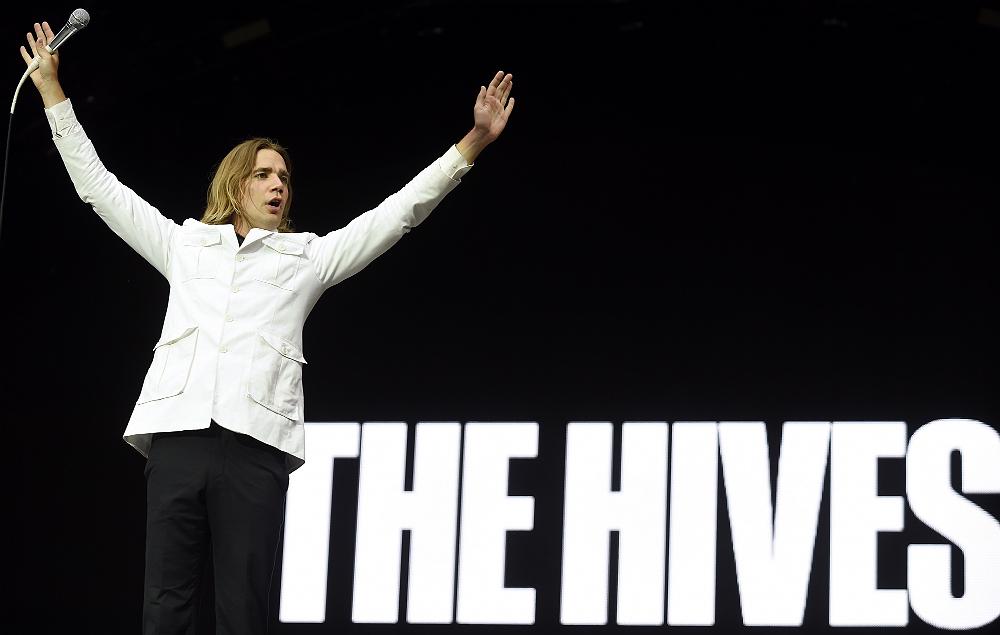 The Hives' Pelle Almqvist