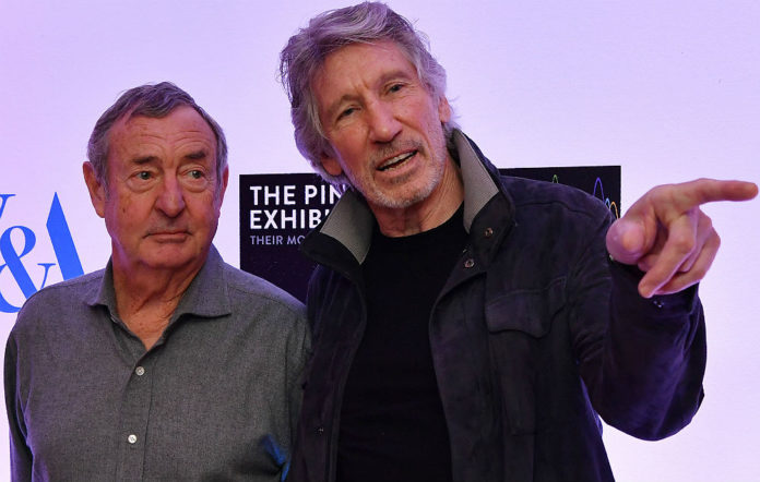 Pink Floyd's Nick Mason and former bassist Roger Waters