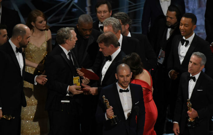 The kerfuffle at this year's Oscars in full swing