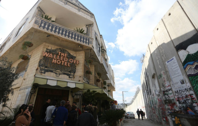 Banksy's 'Walled Off Hotel'