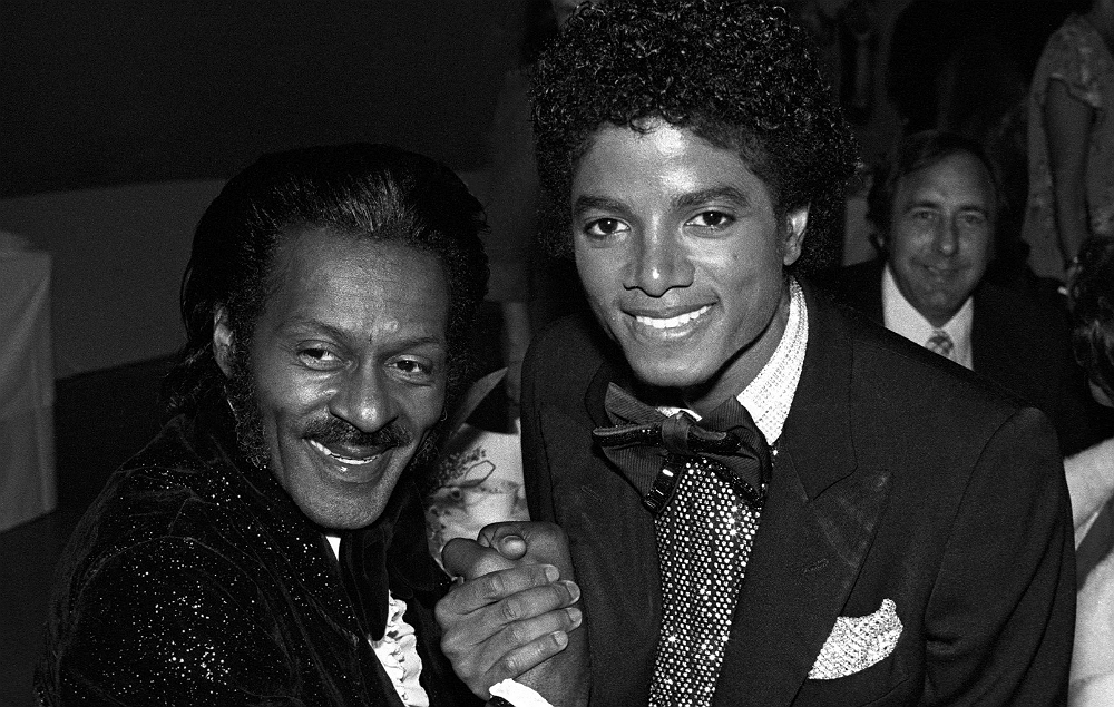 Chuck Berry and Michael Jackson