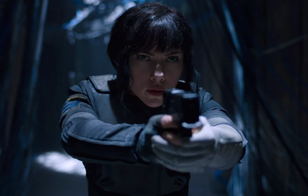 The first five minutes of Ghost In The Shell have been released