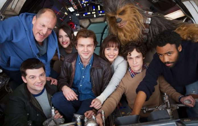 The cast of Star Wars' Han Solo spin-off
