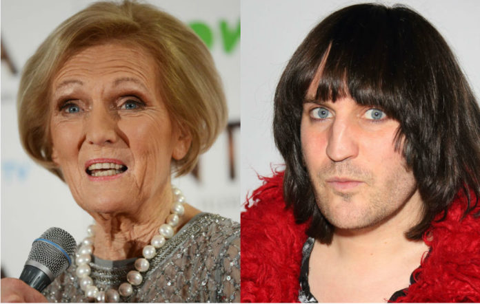 Mary Berry says she doesn't know who Noel Fielding is