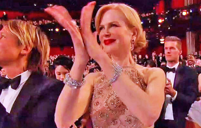 Nicole Kidman at the Oscars 2017