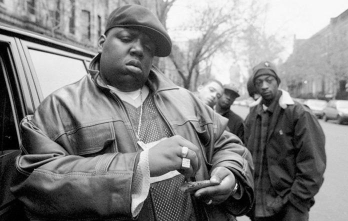 The car Biggie Smalls was shot in is up for sale