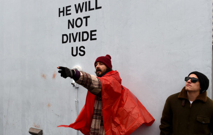 Shia LaBeouf's anti-Trump art project is moving to Liverpool