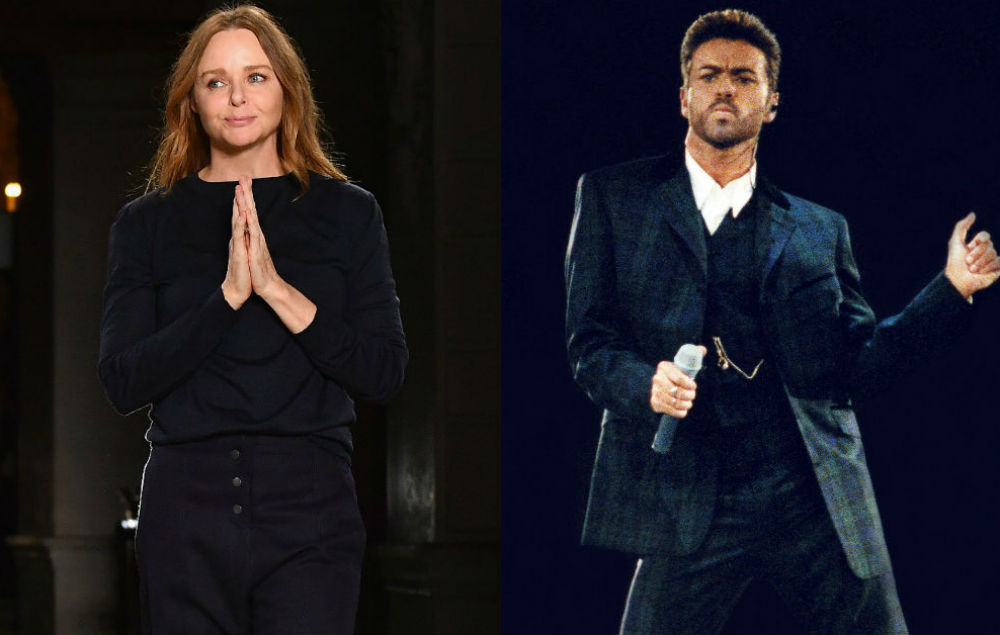 Stella McCartney pays tribute to George Michael at Paris Fashion Week