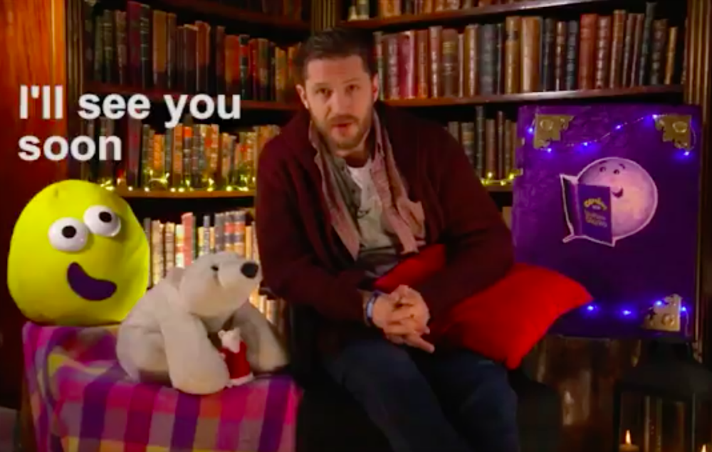 CBeebies teases Tom Hardy's Mother's Day Bedtime StoryCBeebies teases Tom Hardy's Mother's Day Bedtime Story