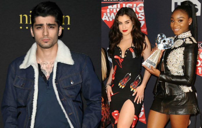 Zayn was given an iHeartRadio award that Fifth Harmony actually won