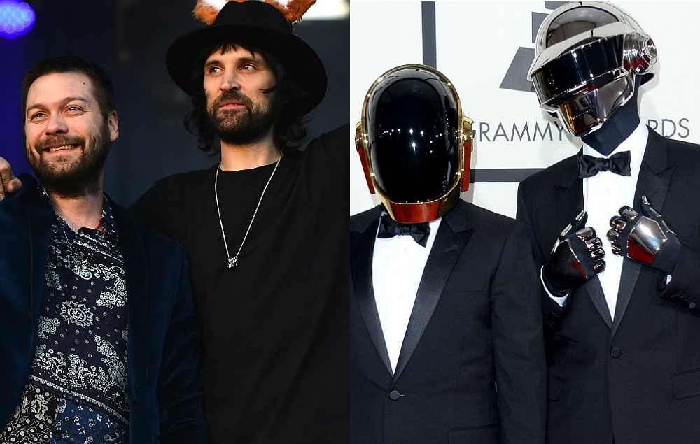 Kasabian Cover Daft Punk As They Kick Off 2017 World Tour Nme