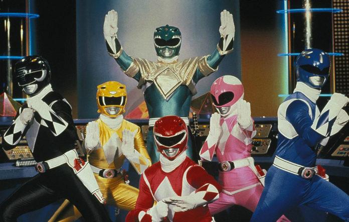 The original cast of 'Power Rangers'