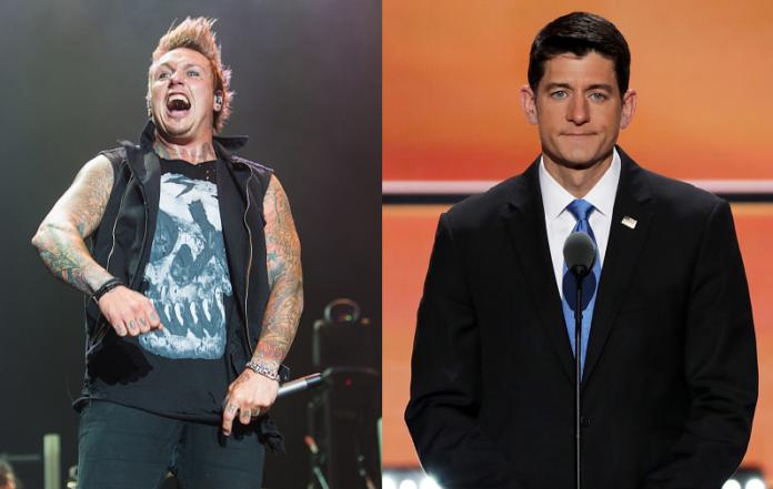 Papa Roach's Jacoby Shaddix and Paul Ryan