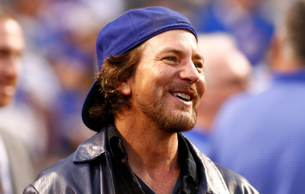 Eddie Vedder Chicago Cubs jingle