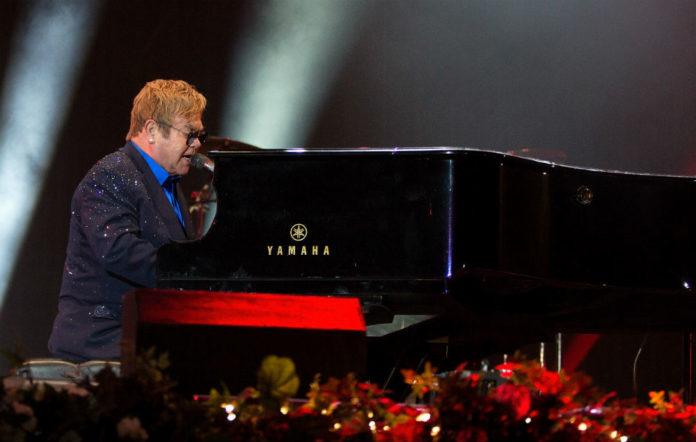 Elton John playing Hyde Park