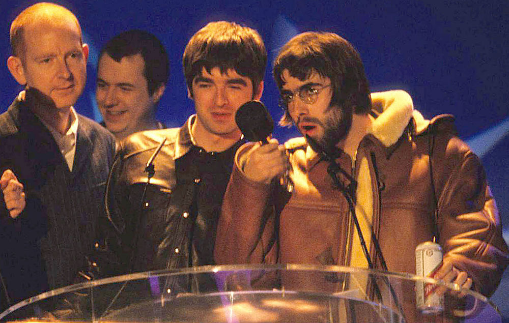 Alan McGee and Oasis
