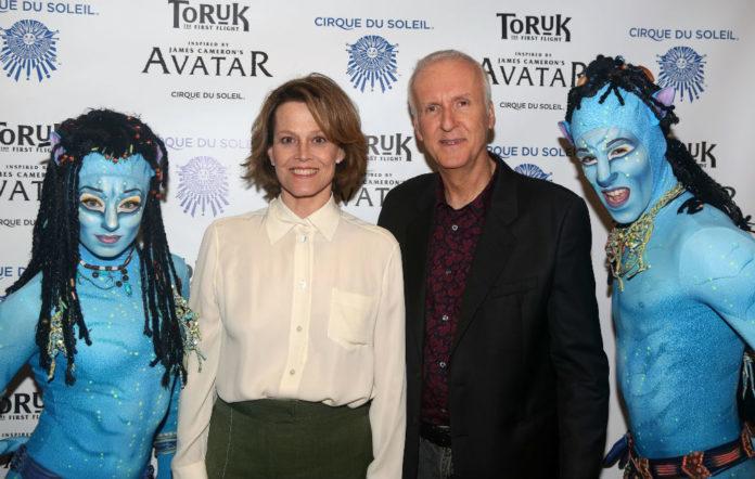 Sigourney Weaver and 'Avatar' director James Cameron