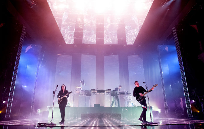 The xx live at Brixton Academy