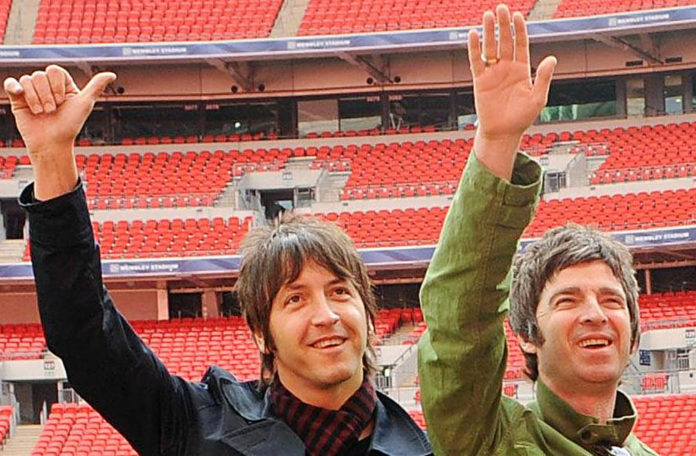 Gem Archer and Noel Gallagher