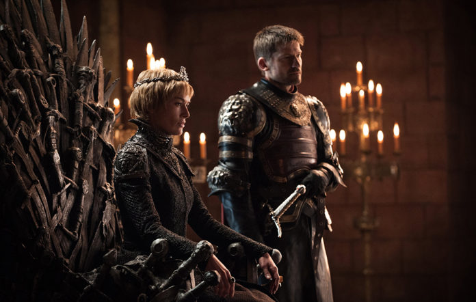 Cersei and Jaime Lannister in Game of Thrones season 7