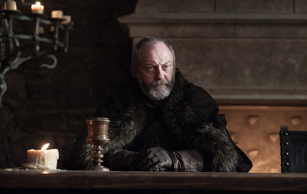 Davos Seaworth in Game of Thrones season 7