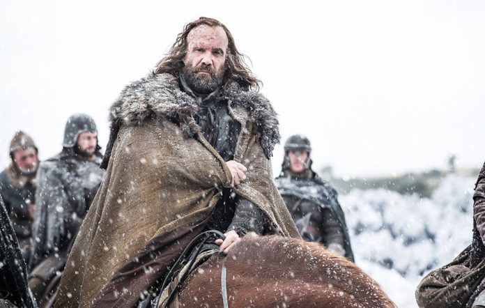 The Hound in Game of Thrones season 7