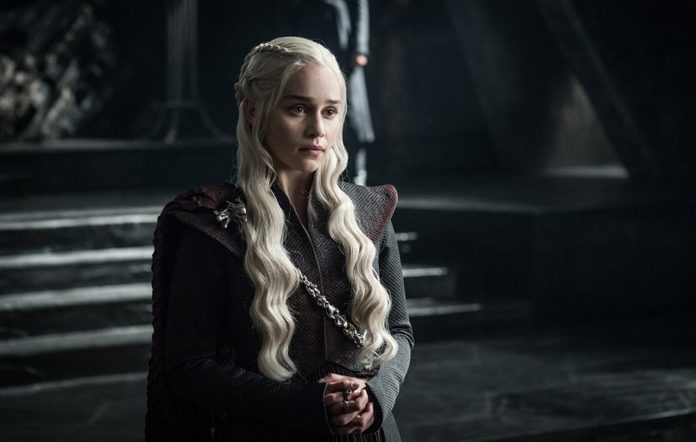 Daenerys in Game of Thrones season 7