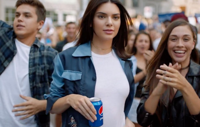 Kendall Jenner in axed Pepsi advert
